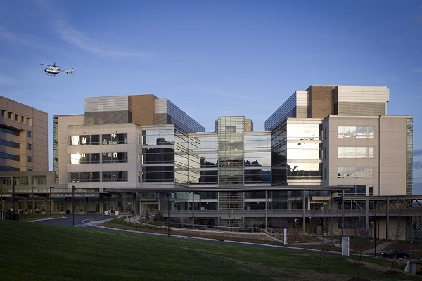photo of the NC Cancer hospital